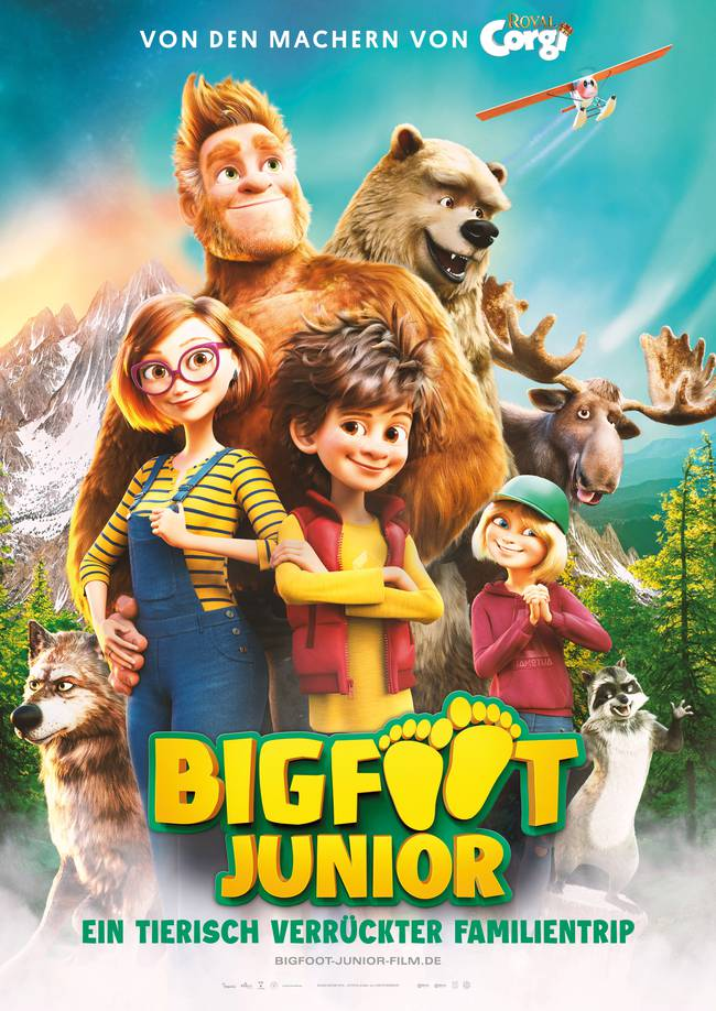 BIGFOOT JUNIOR - EIN TIERISCH VERRÜCKTER FAMILIENTRIP