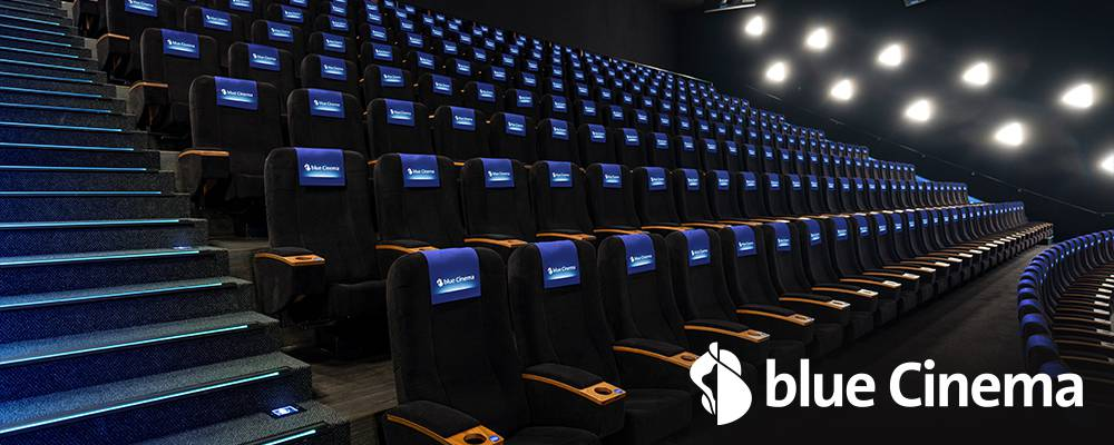 blue Cinema Saal