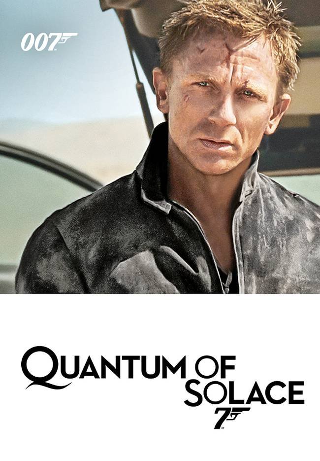 BOND CINEMA - QUANTUM OF SOLACE