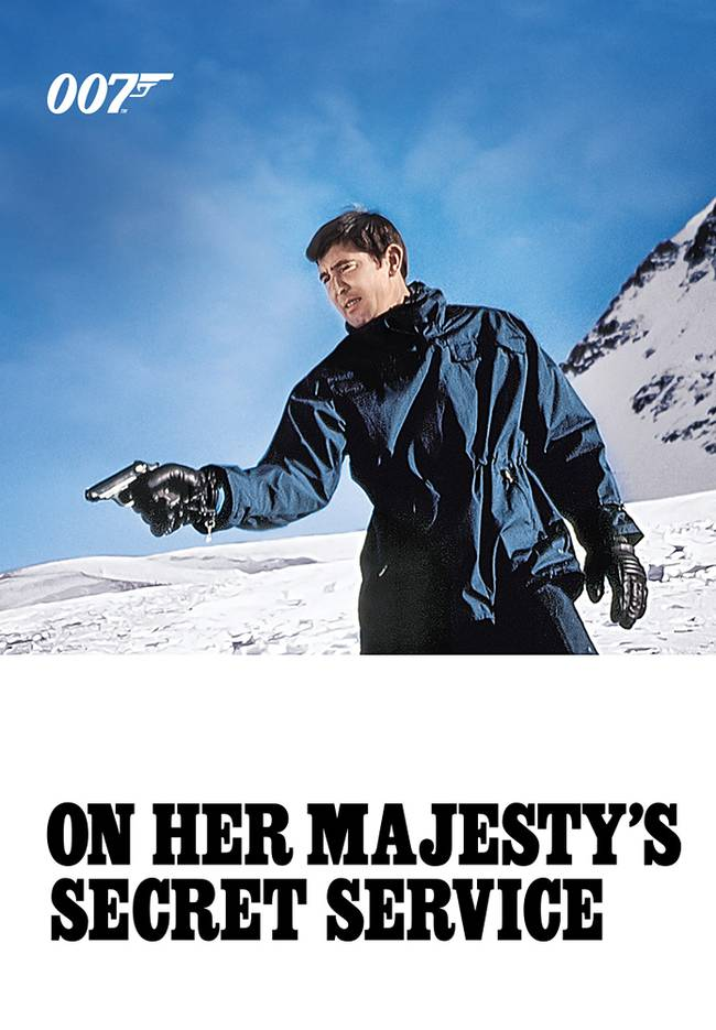 BOND CINEMA - ON HER MAJESTY'S SECRET SERVICE