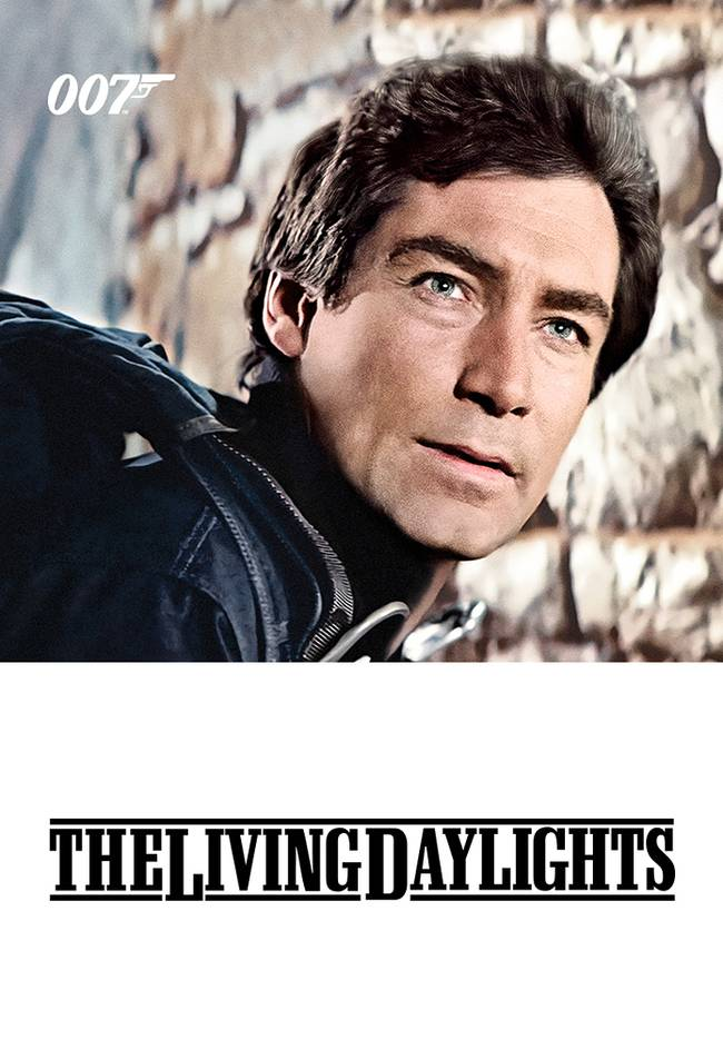 BOND CINEMA - THE LIVING DAYLIGHTS