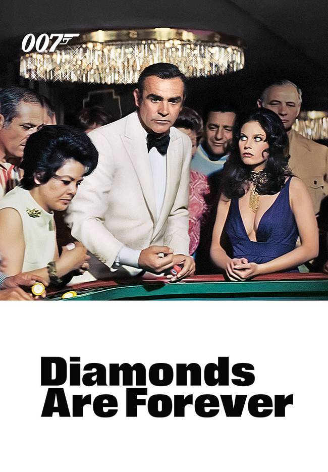 BOND CINEMA - DIAMONDS ARE FOREVER