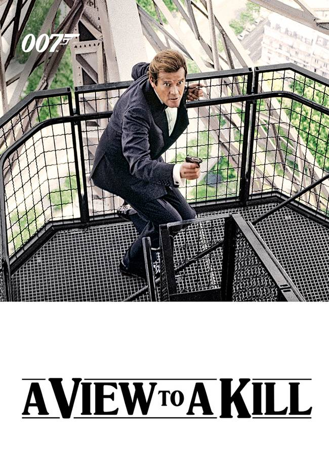 BOND CINEMA - A VIEW TO A KILL